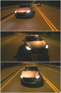 喝醉酒乱开车新手上路变道视频
