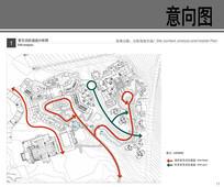 柏悦酒店紧急消防通道分析图