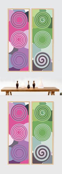 抽象艺术色彩装饰画