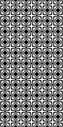 黑白花纹理图案