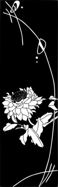 花卉雕刻图案