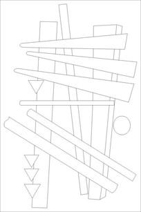 木匠雕刻图案 CDR