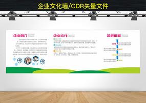 企业文化墙发展历程形象墙