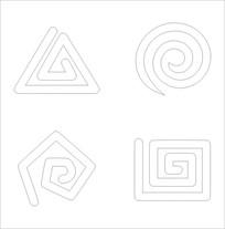特殊标志雕刻图案
