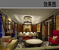 五星豪华酒店中餐厅中餐大包房 JPG