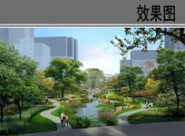 休闲公园景观效果图