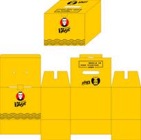 手提纸箱包装盒设计