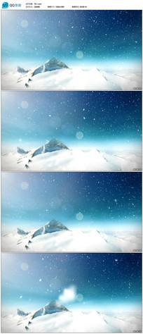 雪山高清视频