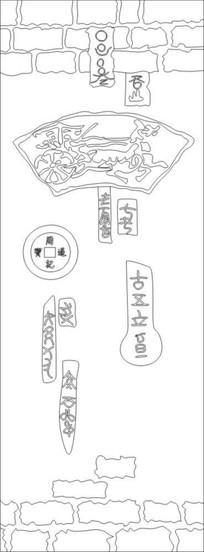 古韵雕刻图案