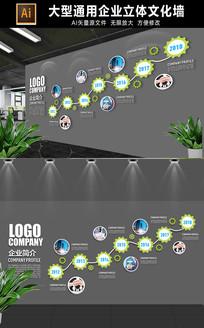 企业历程文化墙