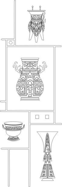 治具雕刻图案 CDR