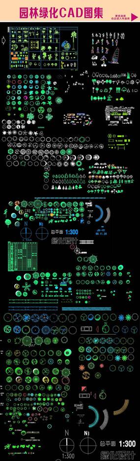 园林绿化CAD图集