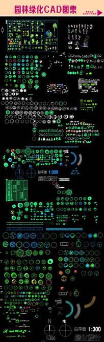 园林绿化CAD图集 dwg