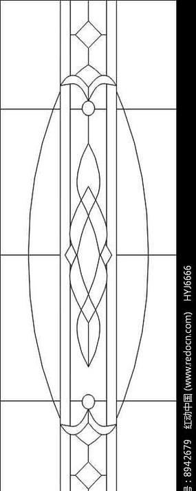 冰雕线条雕刻图案