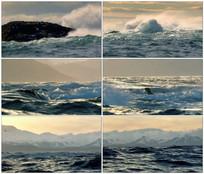 大海海浪大气气势磅礴视频