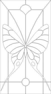 蝴蝶神雕刻图案