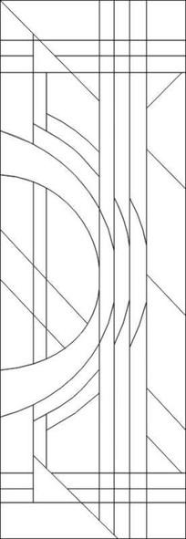 平面线条雕刻图案