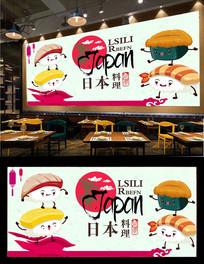 日本料理背景墙