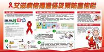 校园社区预防艾滋宣传展板