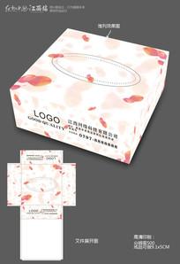 纸巾盒宣传设计