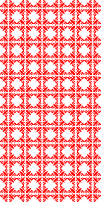 风华红花纹理图案