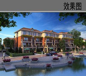 河南省鹤壁市某住宅小区效果图