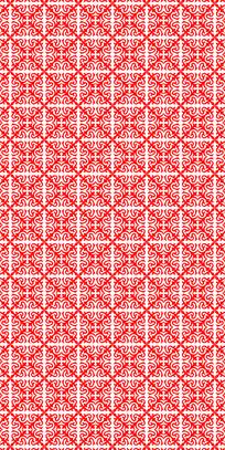 花样红色花纹理图案