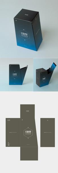 科技公司高档时尚包装设计
