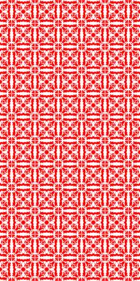 热情红花纹理图案