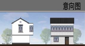 乡村建筑改造效果图