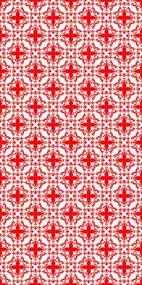 艳丽红花纹理图案
