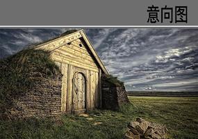 草原上的木屋
