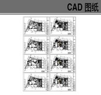 茶餐厅混搭风格CAD