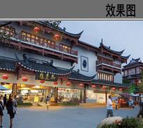 城皇庙改造古建效果图 JPG