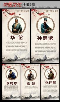 古代医生中医文化挂图
