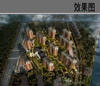 杭州某住宅鸟瞰图