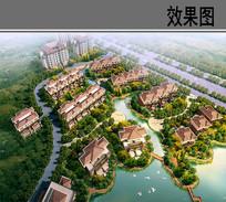 河南省鹤壁市某住宅小区鸟瞰图