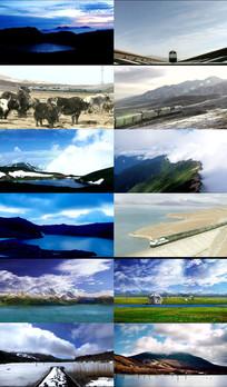 青藏高原动态视频