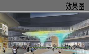 商业综合体欢乐广场效果图