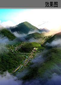 山坡小镇规划