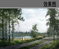 石路景观 PSD