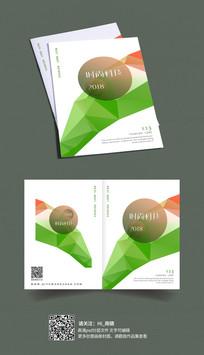 时尚几何抽象书籍画册封面