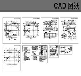 食堂建筑全套施工图