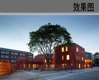 特色幼儿园建筑设计效果图 JPG