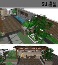 庭院景观模型