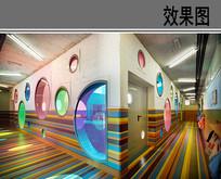 童趣走廊设计效果图 JPG