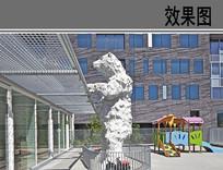 幼儿园户外活动空间设计 JPG
