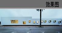 幼儿园建筑立面透视效果 JPG