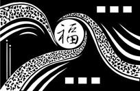 中国福雕刻图案