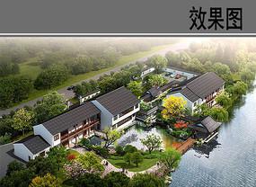 中式古典别墅区